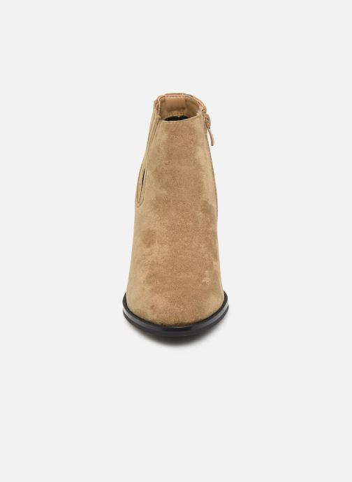 Bottines et boots LPB -LES PETITES BOMBES TERRY Marron vue portées chaussures