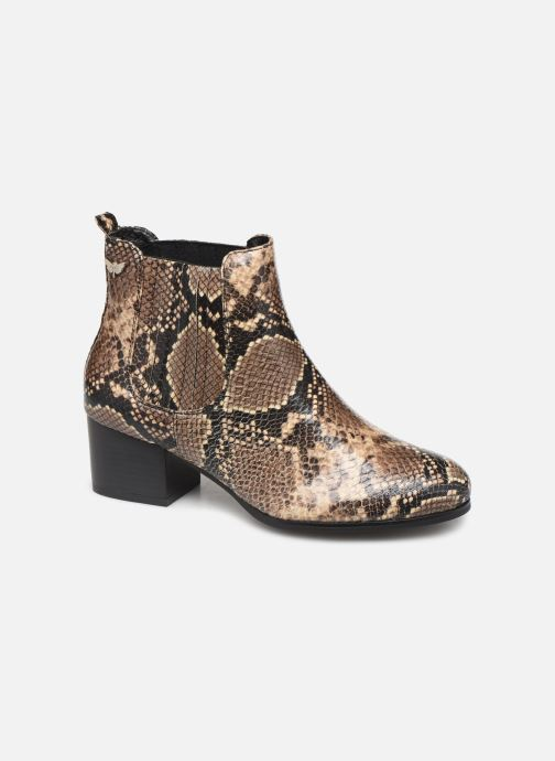 Bottines et boots LPB -LES PETITES BOMBES CHIRAZ Marron vue détail/paire