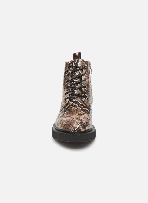 Bottines et boots LPB -LES PETITES BOMBES ANNA Beige vue portées chaussures