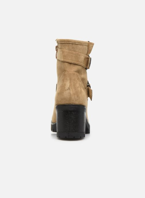 Ankle boots LPB /LES PETITES BOMBES ELSA Brown view from the right