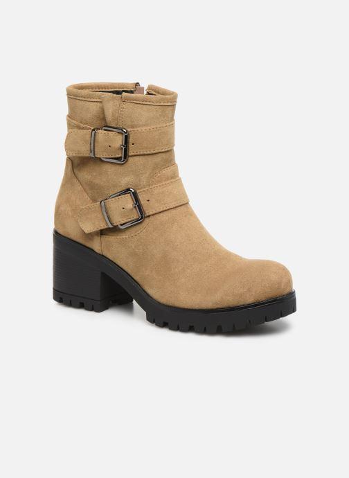 Boots en enkellaarsjes LPB -LES PETITES BOMBES ELSA Bruin detail