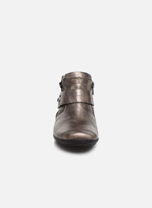Bottines et boots Pédiconfort Annah C Gris vue portées chaussures