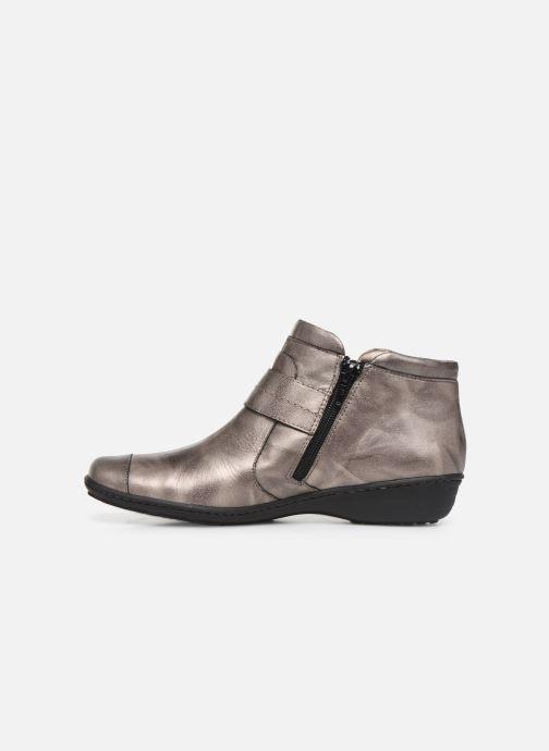 Ankle boots Pédiconfort Annah C Grey front view