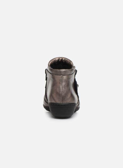 Bottines et boots Pédiconfort Annah C Gris vue droite