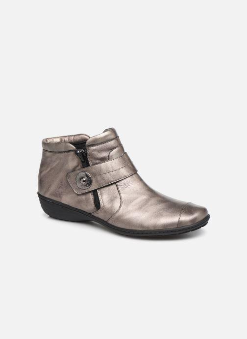 Bottines et boots Pédiconfort Annah C Gris vue détail/paire