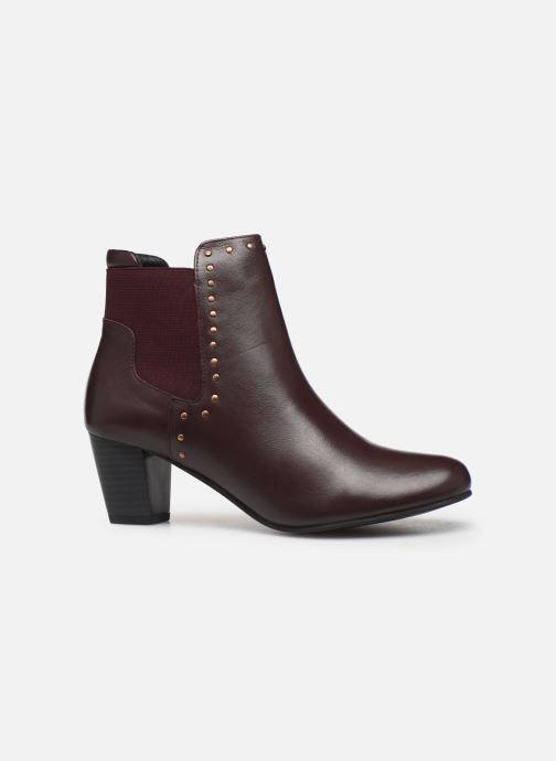 Ankle boots Pédiconfort Flora C Burgundy back view