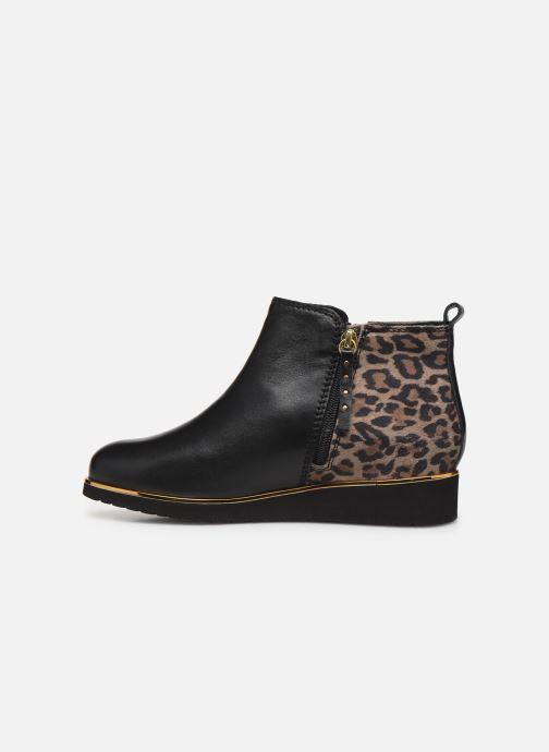 Ankle boots Pédiconfort Sand C Black front view