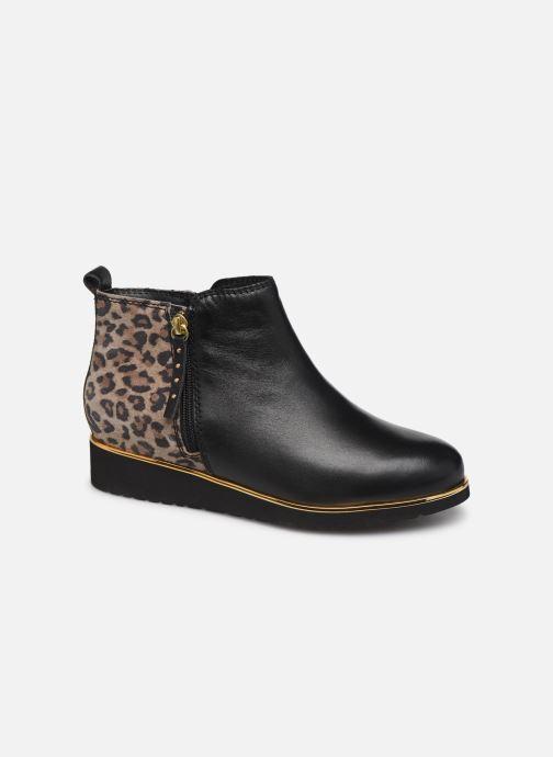 Ankle boots Pédiconfort Sand C Black detailed view/ Pair view