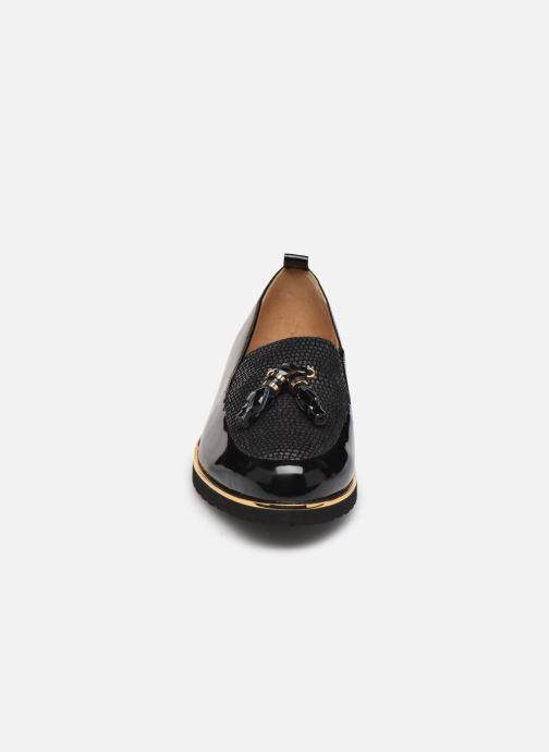 Mocassins Pédiconfort Bea C Noir vue portées chaussures