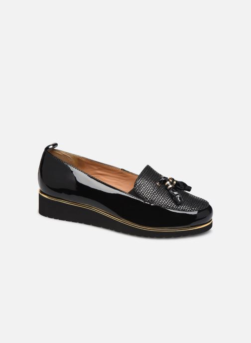 Loafers Pédiconfort Bea C Black detailed view/ Pair view