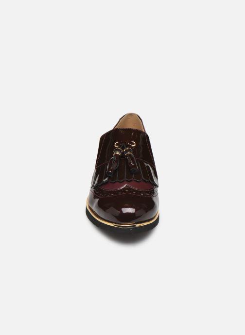 Mocassins Pédiconfort Milene C Bordeaux vue portées chaussures