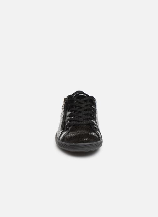 Baskets Pédiconfort Lillie C Noir vue portées chaussures