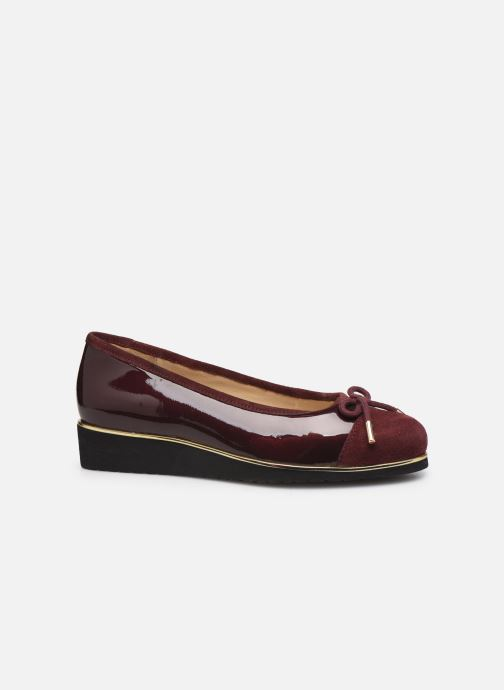 Ballet pumps Pédiconfort Mounia C Burgundy back view