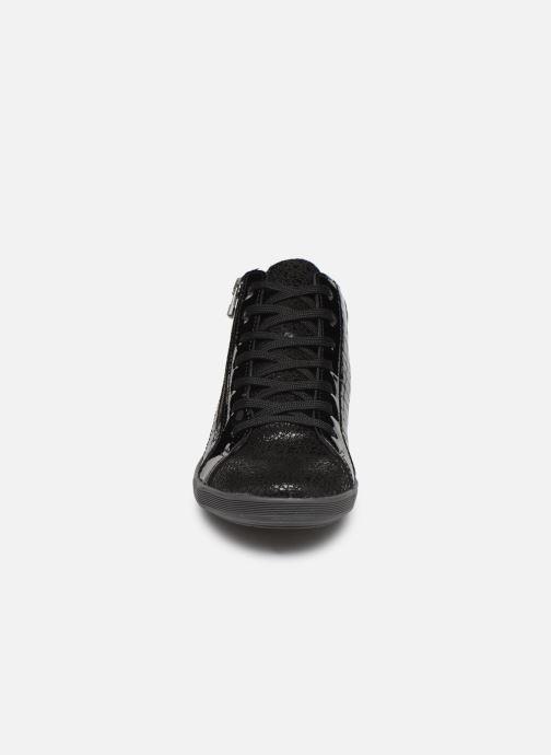 Baskets Pédiconfort Kolo C Noir vue portées chaussures