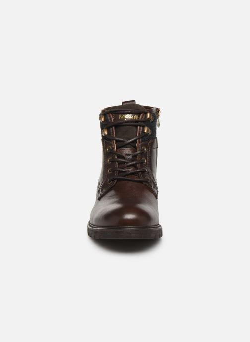 Stiefeletten & Boots Pantofola d'Oro LEVICO UOMO HIGH braun schuhe getragen