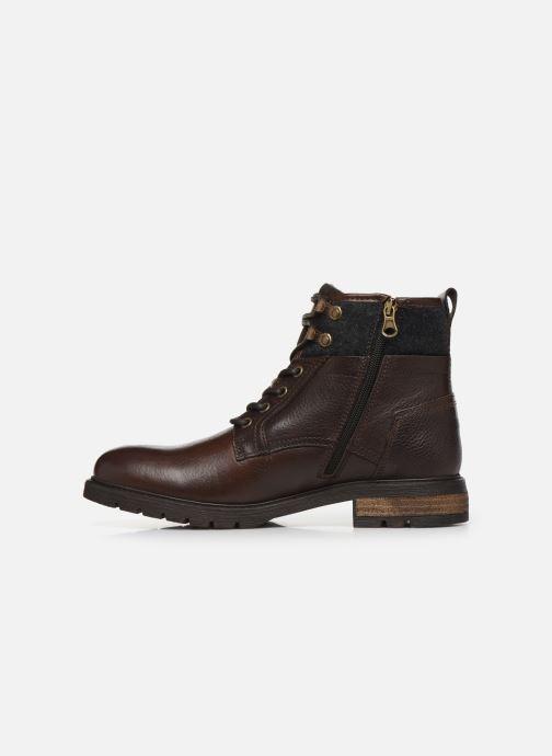 Boots en enkellaarsjes Pantofola d'Oro LEVICO UOMO HIGH Bruin voorkant