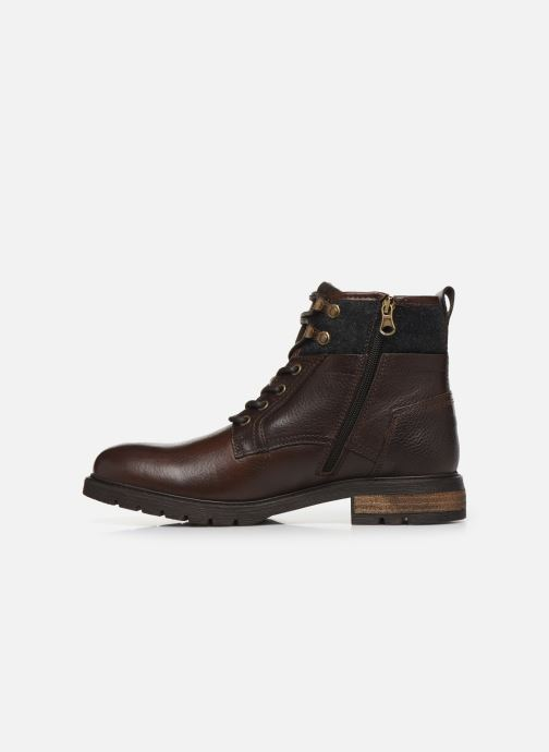 Stiefeletten & Boots Pantofola d'Oro LEVICO UOMO HIGH braun ansicht von vorne