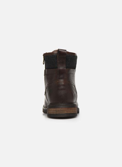 Stiefeletten & Boots Pantofola d'Oro LEVICO UOMO HIGH braun ansicht von rechts