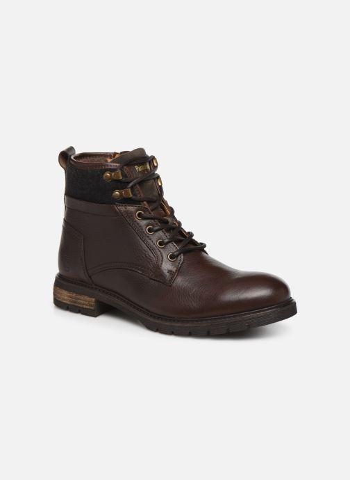 Bottines et boots Pantofola d'Oro LEVICO UOMO HIGH Marron vue détail/paire