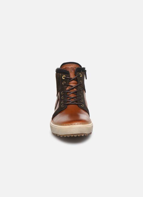 Baskets Pantofola d'Oro BENEVENTO UOMO MID Marron vue portées chaussures