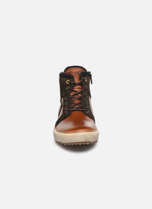 Sneaker Pantofola d'Oro BENEVENTO UOMO MID braun schuhe getragen