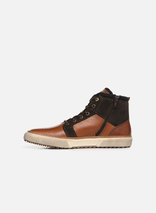 Baskets Pantofola d'Oro BENEVENTO UOMO MID Marron vue face
