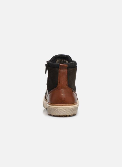 Sneakers Pantofola d'Oro BENEVENTO UOMO MID Bruin rechts