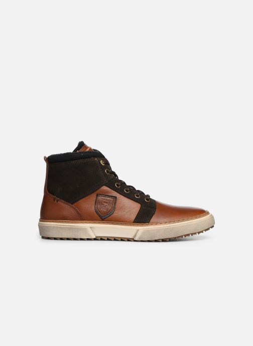 Sneakers Pantofola d'Oro BENEVENTO UOMO MID Bruin achterkant