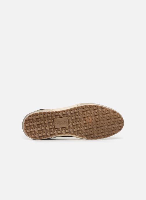 Baskets Pantofola d'Oro BENEVENTO UOMO MID Marron vue haut