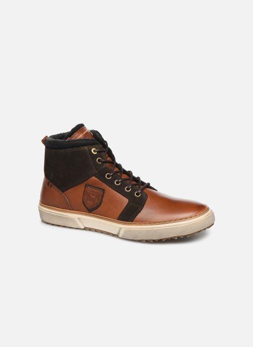 Sneakers Pantofola d'Oro BENEVENTO UOMO MID Bruin detail