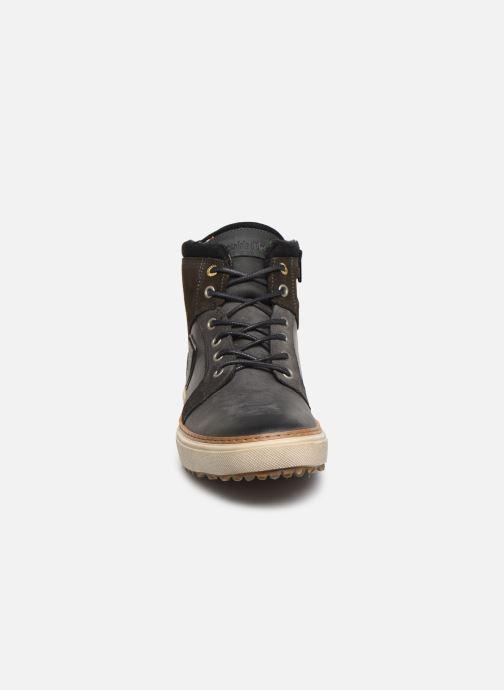 Sneakers Pantofola d'Oro BENEVENTO UOMO MID Grigio modello indossato