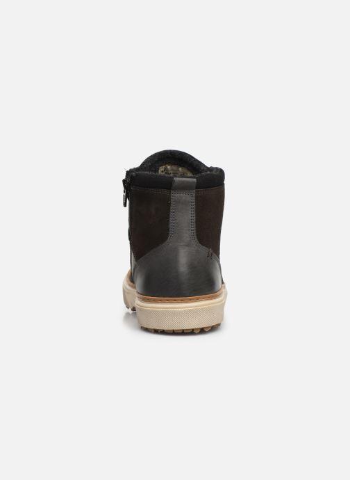 Sneaker Pantofola d'Oro BENEVENTO UOMO MID grau ansicht von rechts