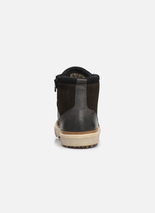 Sneakers Pantofola d'Oro BENEVENTO UOMO MID Grijs rechts