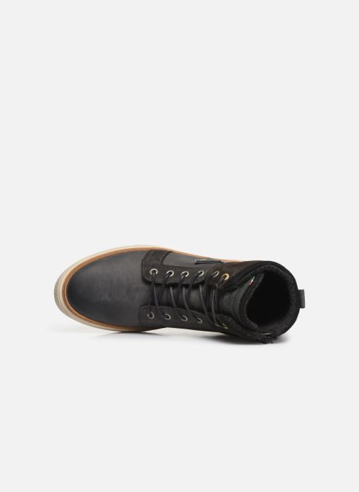 Sneakers Pantofola d'Oro BENEVENTO UOMO MID Grigio immagine sinistra