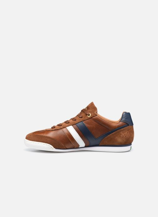 Baskets Pantofola d'Oro VASTO UOMO LOW Marron vue face