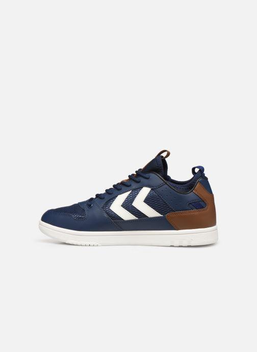 Sneaker Hummel Power Play Sock blau ansicht von vorne
