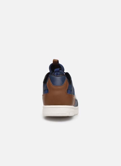 Sneaker Hummel Power Play Sock blau ansicht von rechts