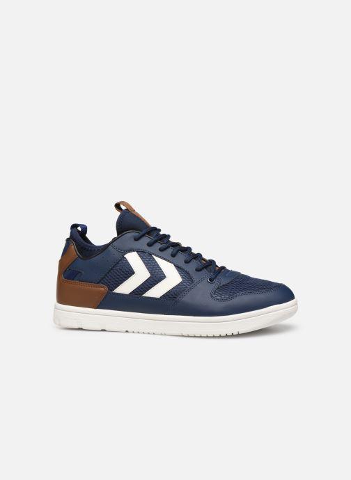 Sneaker Hummel Power Play Sock blau ansicht von hinten