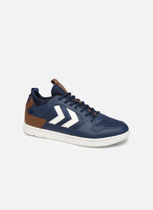 Sneaker Hummel Power Play Sock blau detaillierte ansicht/modell