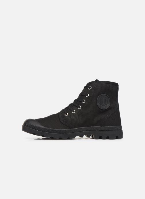 Sneaker Palladium Pampa Hi Orig U M schwarz ansicht von vorne