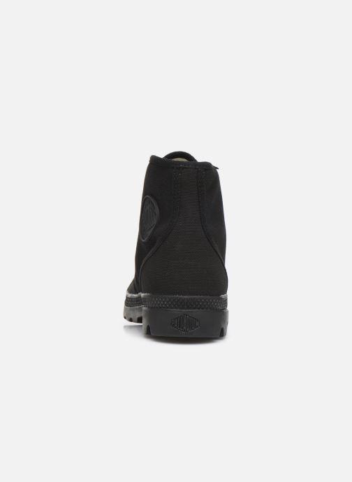 Sneaker Palladium Pampa Hi Orig U M schwarz ansicht von rechts