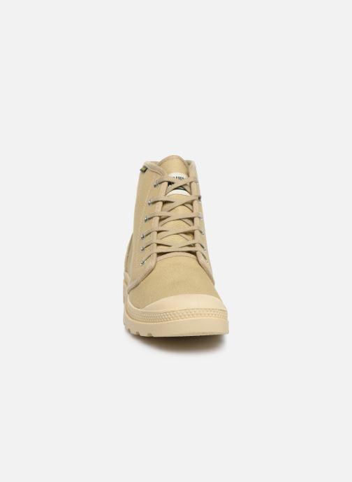 Sneaker Palladium Pampa Hi Orig U M beige schuhe getragen