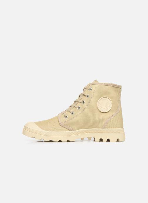 Sneaker Palladium Pampa Hi Orig U M beige ansicht von vorne