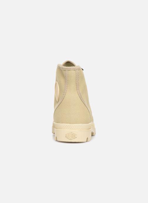 Sneaker Palladium Pampa Hi Orig U M beige ansicht von rechts