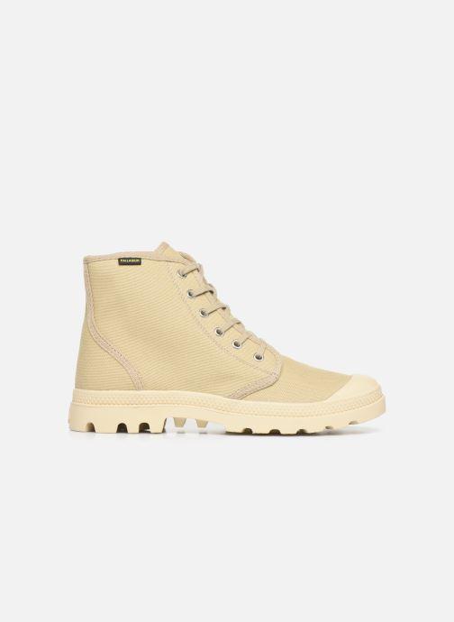 Sneaker Palladium Pampa Hi Orig U M beige ansicht von hinten