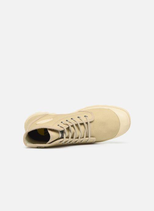 Sneaker Palladium Pampa Hi Orig U M beige ansicht von links