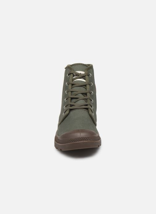 Baskets Palladium Pampa Hi Orig U M Vert vue portées chaussures