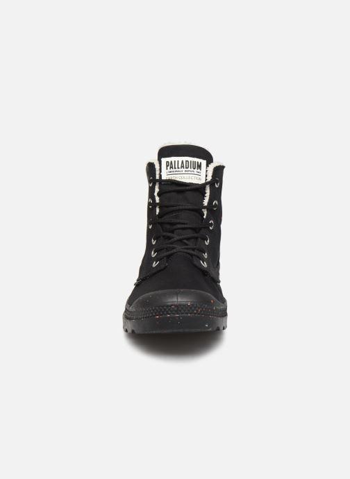Baskets Palladium Pampa Earth Noir vue portées chaussures