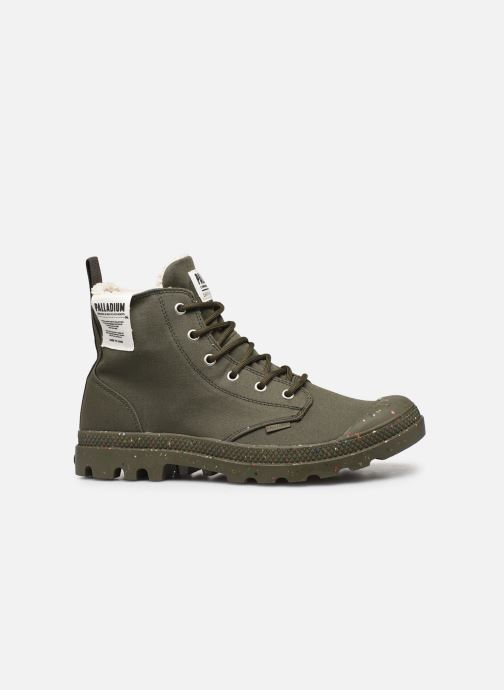 Trainers Palladium Pampa Earth Green back view