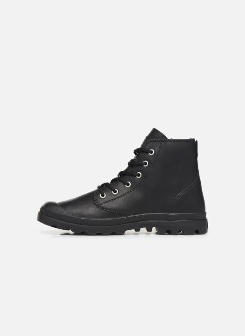 Bottines et boots Palladium Pampa Hi LTH UL Noir vue face